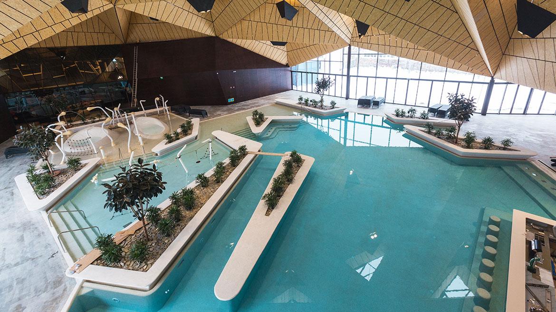 Termalija Family Fun - notranji bazeni